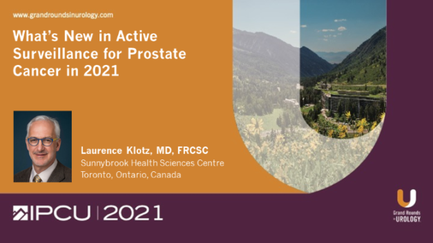 What's New in Active Surveillance for Prostate Cancer in 2021