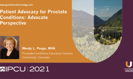 Patient Advocacy for Prostate Conditions: Advocate Perspective