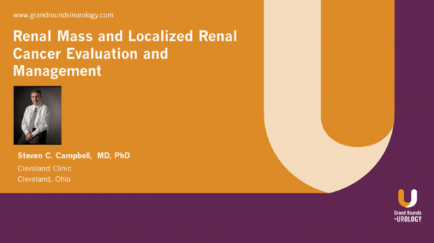 Renal Mass and Localized Renal Cancer Evaluation and Management